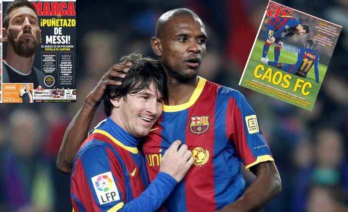 Le conflit entre Messi et Abidal fait la Une de la presse espagnole