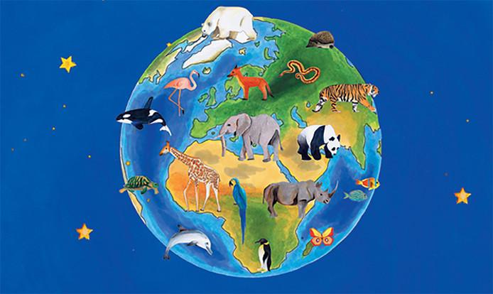 Sarah's Wereld is een spel en gaat over het meisje Sarah, dat in feite symbool staat voor ieder mens op aarde. Sarah neemt de leerlingen mee op ontdekkingsreis aan de hand van brieven.