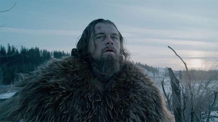Leonardo DiCaprio won voor zijn rol in 'The Revenant' zijn eerste Oscar. Beeld YouTube
