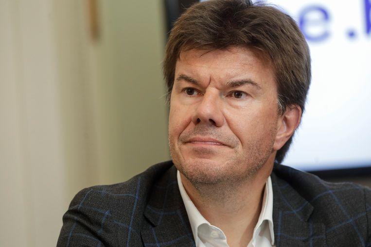 Sven Gatz (Open Vld) wordt minister in de Brusselse regering. De partijtop van de liberalen is niet gelukkig met het Brusselse regeerakkoord. Beeld BELGA