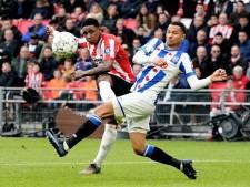 Samenvatting | PSV valt na rust ver terug, maar verslaat Heerenveen dankzij Bergwijn