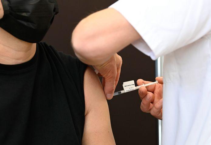 Centre de vaccination (archives, Bruxelles)