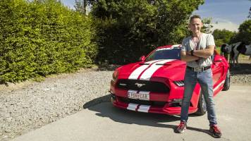 Kristiaan maakt duur foutje tijdens opnames 'Vanity Plates'