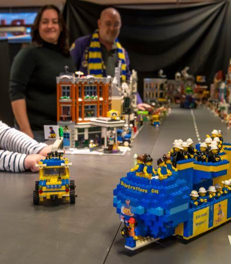 Overweldigend aantal bouwers meldt zich in Goirle voor deelname LEGO-optocht: 'Bouwen verbroedert'