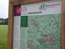 Spannende verhalen voor 10 miljoen fietsers bij Twentse fietsknooppunten