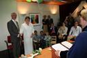 Koos van Dieren en Marianne Kennis vormden op 19 mei 2007 het laatste bruidspaar dat huwde in het gemeentehuis van Berkel-Enschot
