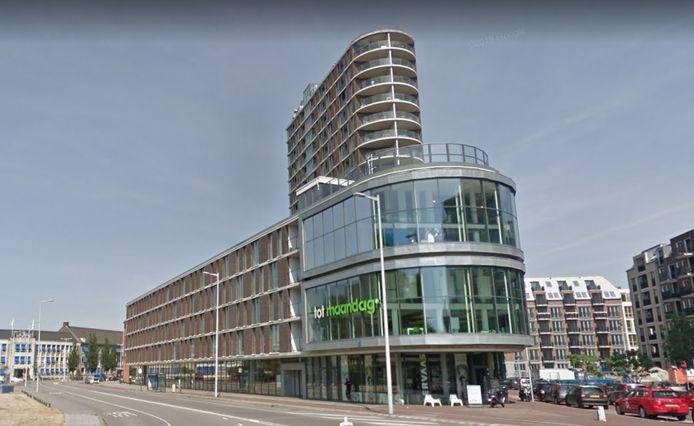Het appartementcomplex tussen de Oudenoord en de Westerdijk in Utrecht.