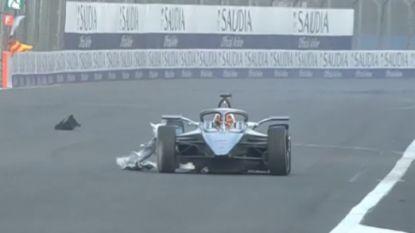 Stoffel Vandoorne verspeelt leidersplaats in Formule E na late crash in Mexico