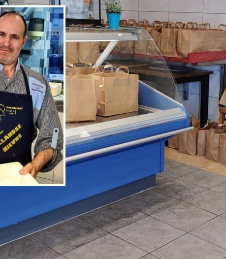 Visboer Abdeilah geeft 150 gratis maaltijden aan minderbedeelden: 'Mensen zijn me geen uitleg verschuldigd'
