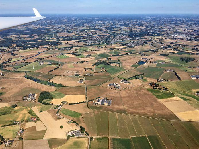 De droogte van de afgelopen jaren was zeker op landbouwgronden goed zichtbaar. Het vasthouden van regenwater in de streek wordt steeds belangrijker.