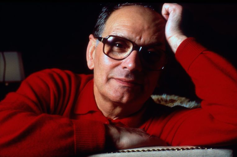 Componist Ennio Morricone in 1991. Beeld Photo News