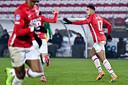 Zakaria Aboukhlal na de 1-1.