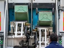 Alle 80.000 afvalcontainers in Den Bosch nieuwe chip, omdat er her en der nog 'illegale' groenbakken staan