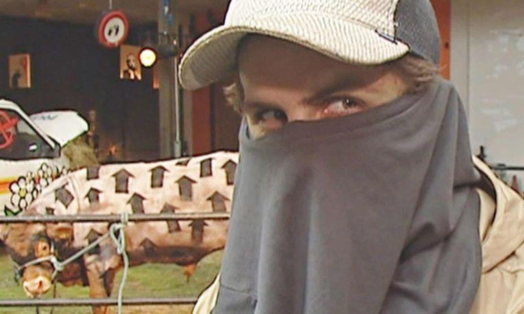 Banksy Beeld ITV News