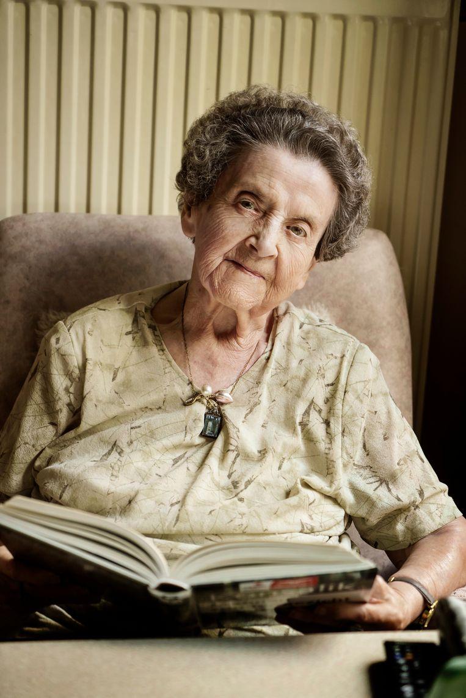 Cecile (90). Beeld Eric de Mildt