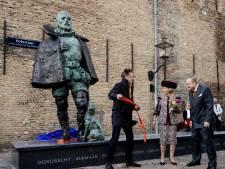Fout op standbeeld Willem van Oranje: plaatsnaam Oudewater ontbreekt