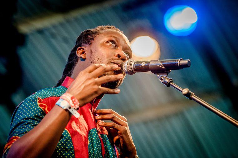 Rapper Akwasi. Beeld ANP Kippa