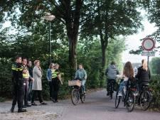 Actie om fietsende scholieren Almende College in Silvolde bewust te maken