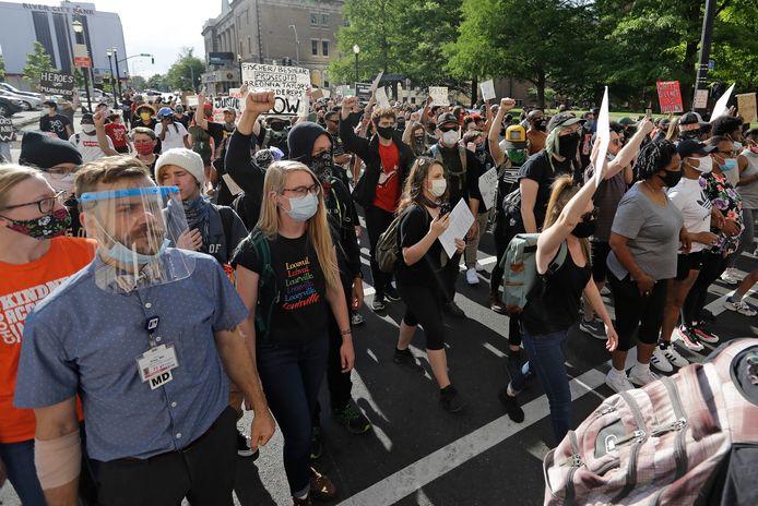 Protesten in Louisville