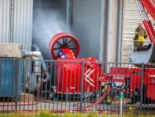 Groot alarm voor brand bij Labee Group op Moerdijk, brandweer haalt Cobra Cutter van stal