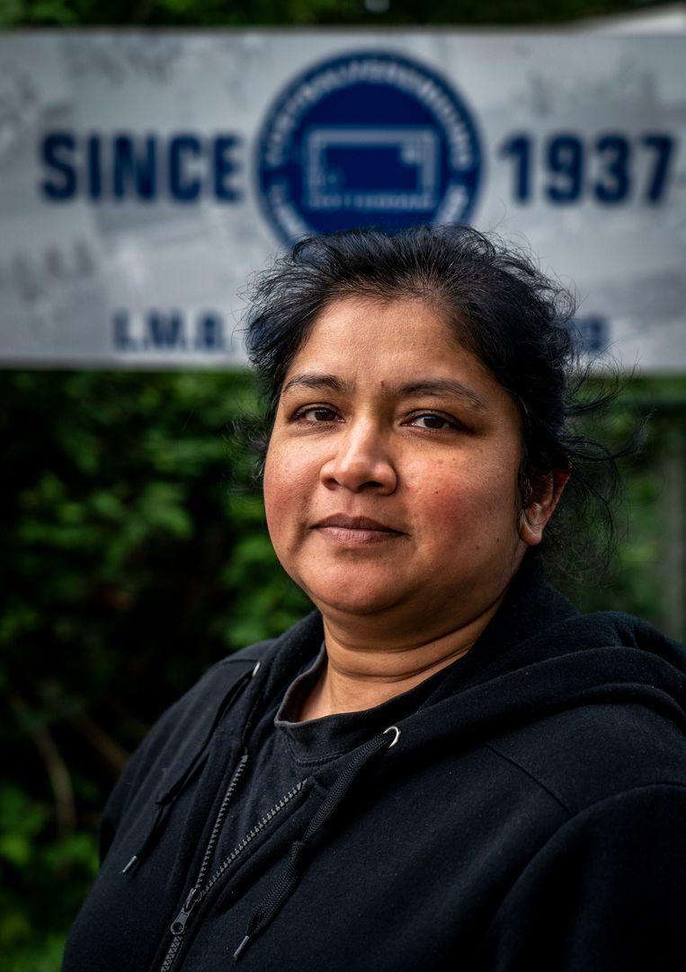 Anita Binda, Regino's moeder  Beeld Jerry Lampen
