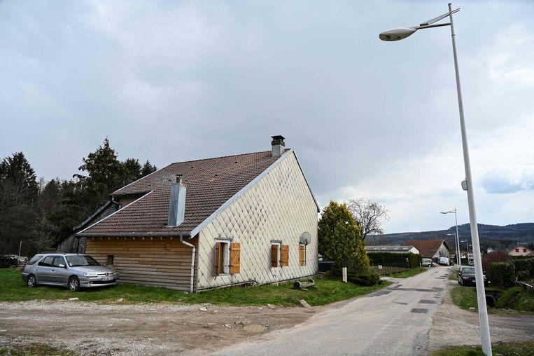 Het huis waar Mia ontvoerd werd. Beeld AFP