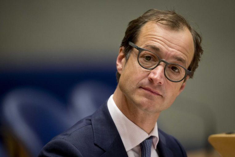 Oud-staatssecretaris Eric Wiebes. Beeld null