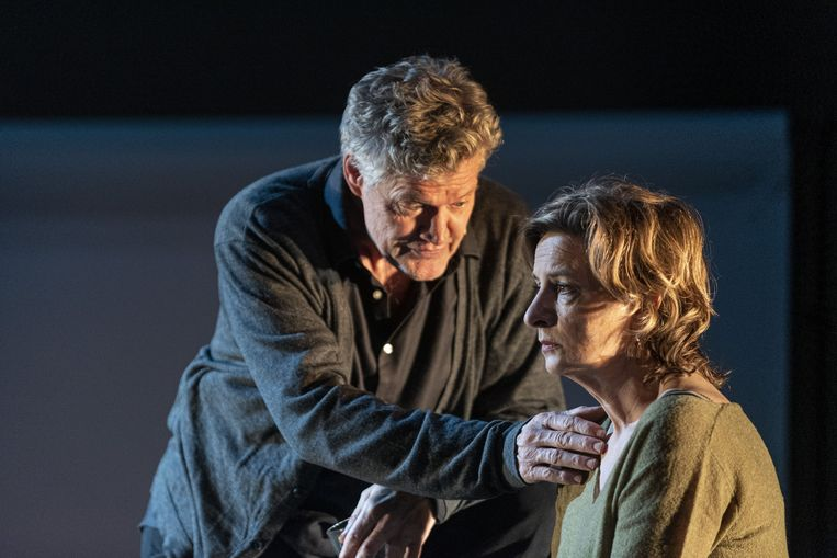 Porgy Franssen en Jacqueline Blom in Tonio. Beeld Ben van Duin