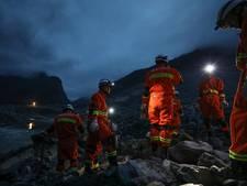 Hoop op overlevenden klein na aardverschuiving China