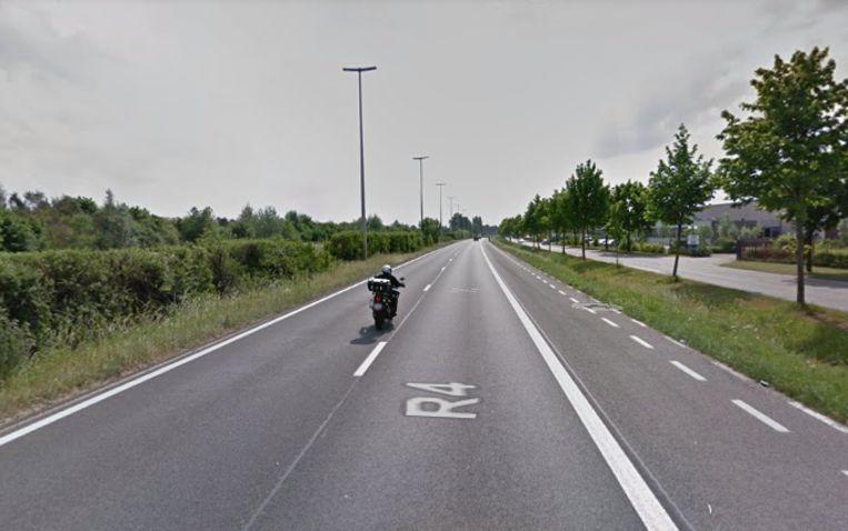De Industrieweg (R4) in Gent