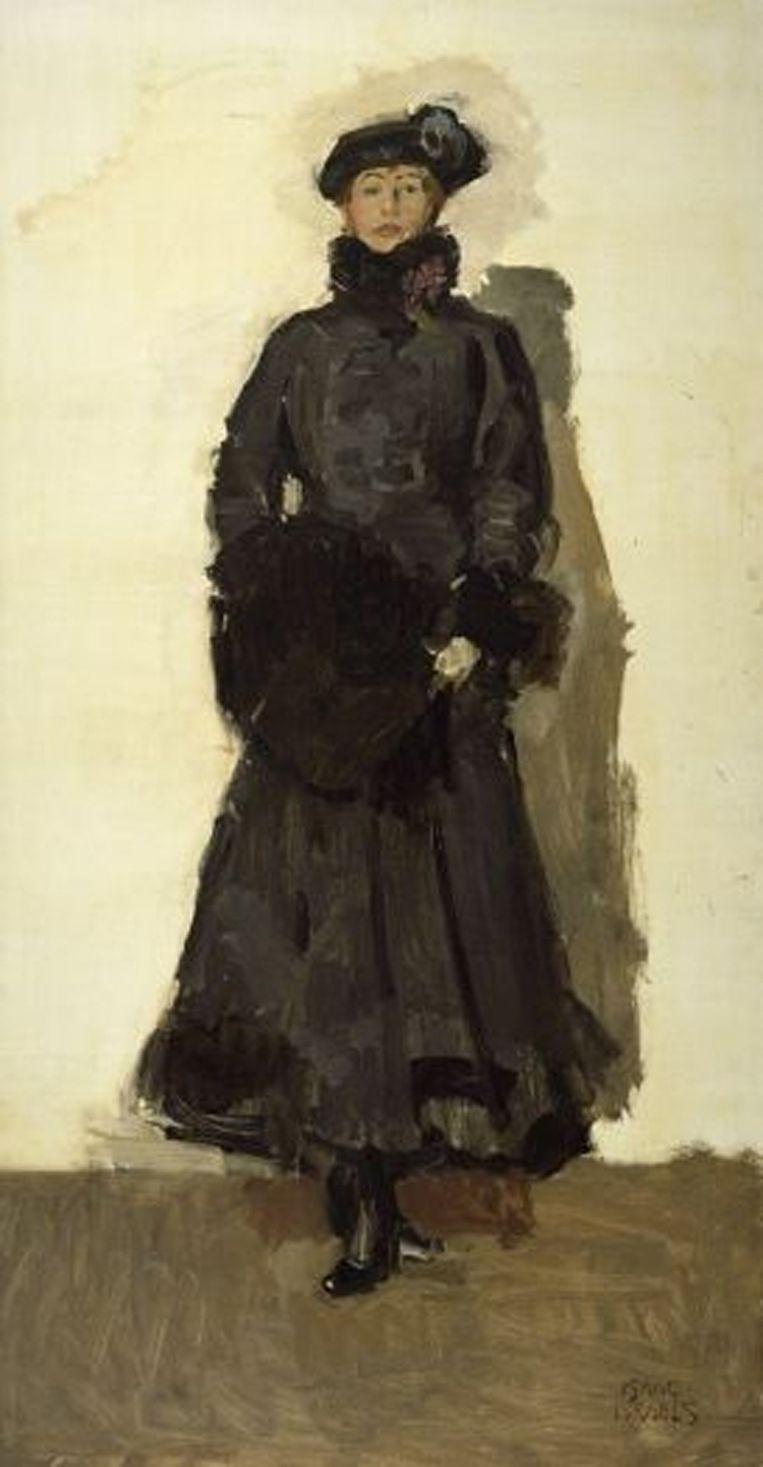 Mata Hari door Isaac Israëls. Beeld .