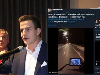 """Na fake news over """"moedige trucker"""" bij wegblokkering """"in Calais"""": #hoaxenalsVB trending op Twitter"""