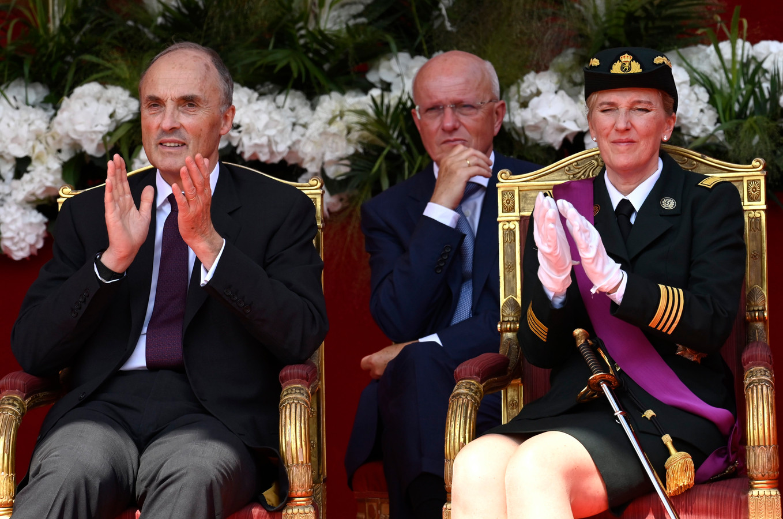 La princesse Astrid et le prince Lorenz.