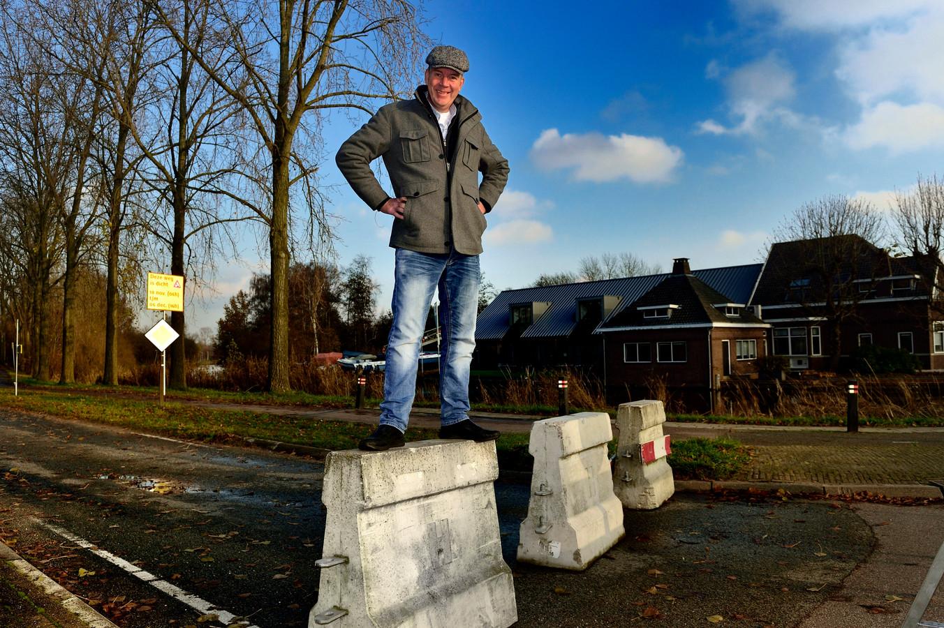 Marco de Haas is het wachten op een restaurant aan de Elfhoevenplas zat en start daarom zelf een tijdelijke horecagelegenheid.