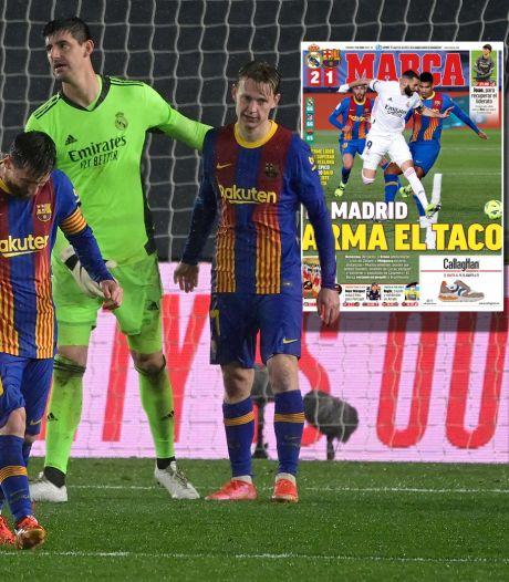 Spaanse media kritisch op falend Barça: 'De Jong moet beter in zo'n grote wedstrijd'