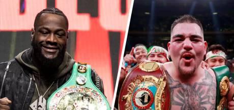 Verliezers Deontay Wilder en Andy Ruiz later dit jaar in een heuse boksklassieker