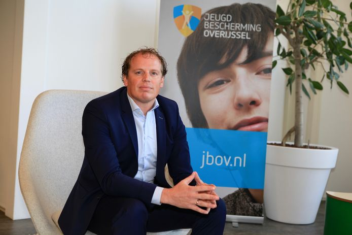 Bestuurder Ruud Brinkman van Jeugdbescherming Overijssel.