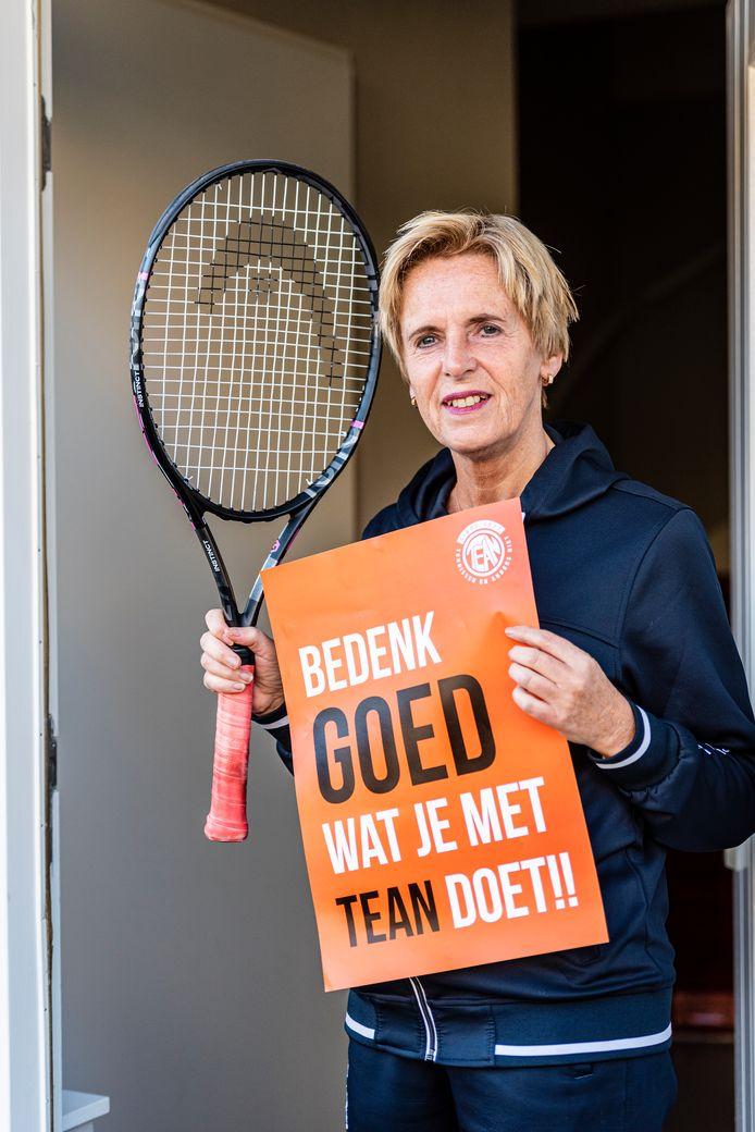 Carin Kleiweg maakt zich sterk voor TEAN .