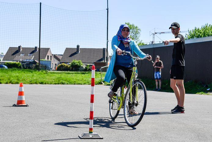 Archief: fietslessen voor volwassenen in Zele