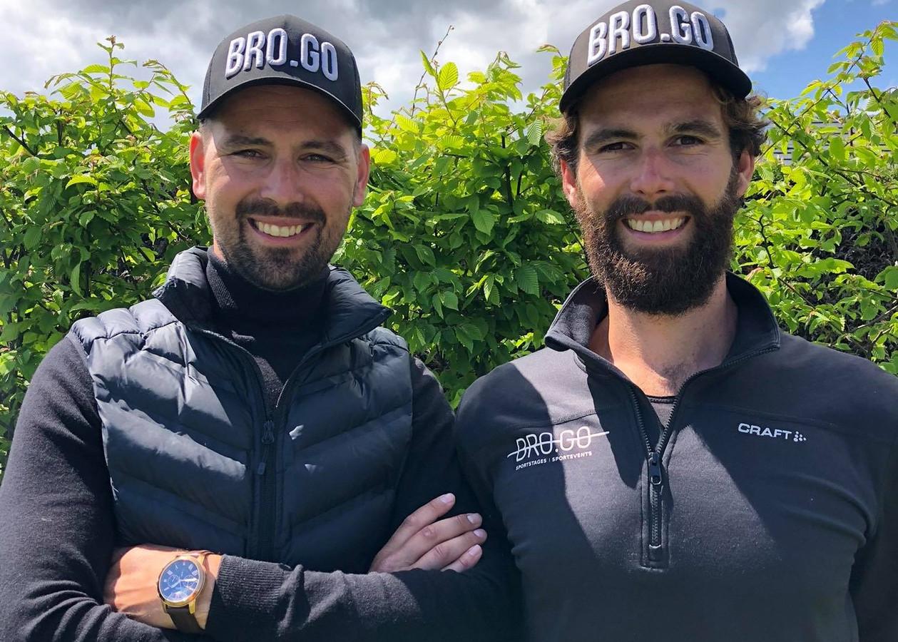 De broers Sam en Alexander Govaert van Bro.Go organiseren zaterdag in Lievegem de eerste triatlon op Belgische bodem in 2021.