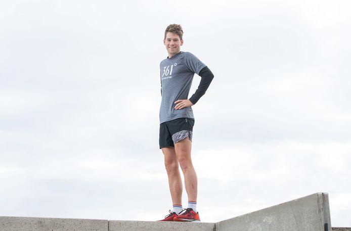 Jorik van Egdom maakt er het beste van in een ook voor topsporters lastige periode.