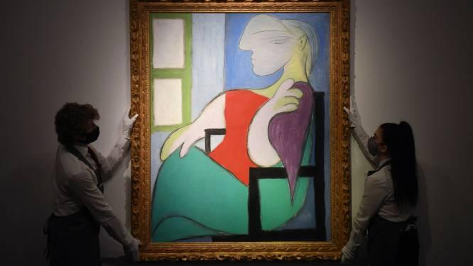 Picasso-schilderij in New York geveild voor 85 miljoen euro