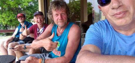 Dutchess of the Sea naderen einde van Atlantische oversteek, familie staat klaar op Antigua