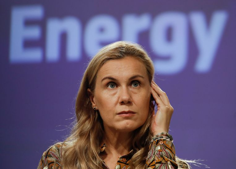 EU-commissaris van energie Kadri Simson. Beeld EPA