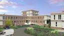 Het arbeidsmigrantenhotel krijgt een torentje van vier verdiepingen en twee vleugels. Thuisvesting, noemt WeLiving het concept.