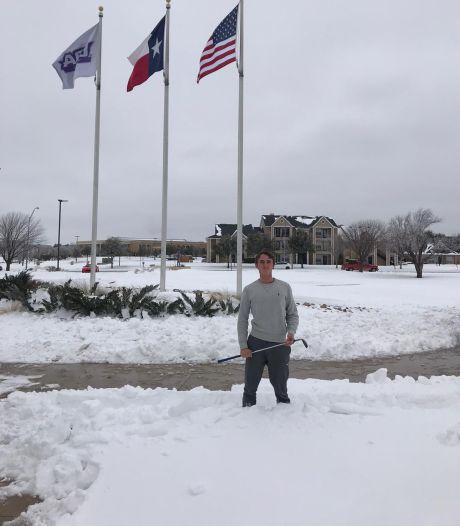 Hengelose golfer Joris Spanjer in winters Texas zonder stroom: 'Deze staat is niet op kou ingericht'