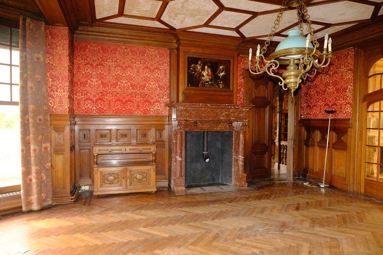 Een van de vele mooie kamers in Berlaarhof