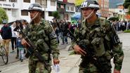 Vier soldaten gedood in Colombia
