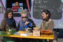 Linda Jak (Tuinderij 't Wild), Leidi Haaijer (BoschBouwBrood) en Sophie Gruijters (Transfarmers/Graafse Akker).