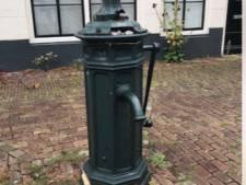 Waar is de oude waterpomp van Vlissingen?